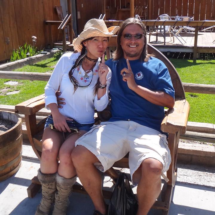 Jenny and Terry Majamaki